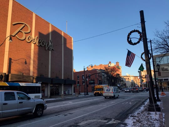 Boscov's, pictured Dec. 20, 2019, has been a mainstay in downtown Binghamton's retail scene for decades.