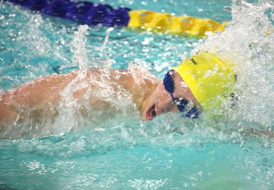 Bainbridge senior swimmer Andrew Witty will compete for Purdue University after graduation.