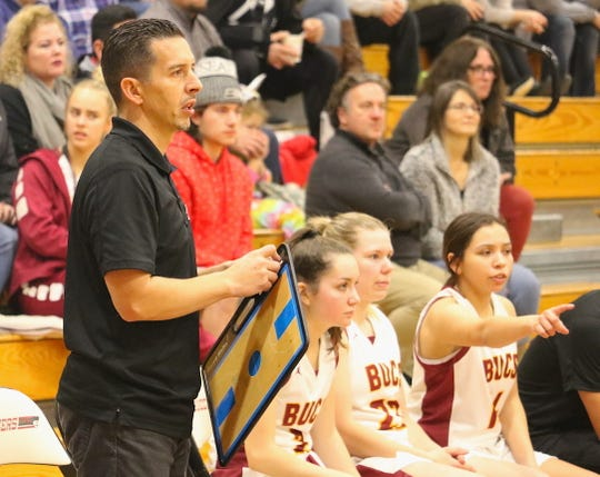 Kingston girls basketball coach Charles Deam and the Buccaneers finished 11-12 last season and reached the West Central District playoffs.