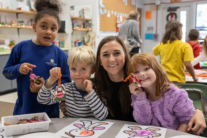"In December, kindergartners and their families explored several modern stories that have been inspired by the classic ""The Gingerbread Boy."""