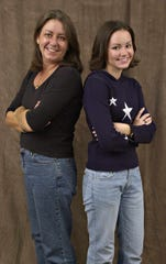 Jill Phelps and her daughter, Autumn Phelps, pictured in a November 2002 FLORIDA TODAY file photo.