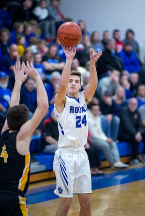 Josh Crall holds Wynford's all-time scoring record with 1,782 points.