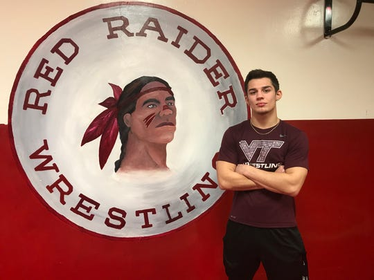 Paulsboro's Gabe Onorato is working his way back from a serious leg injury he suffered in football. He's a three-time state qualifier with 89 career wins.