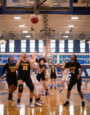 Piscataway at Middlesex girls basketball