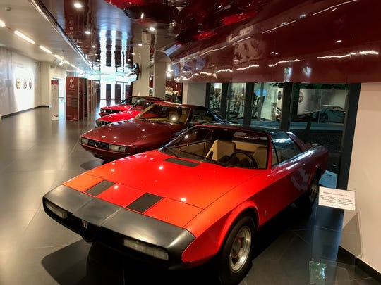 The history of one of the automotive industry's most storied car brands is on display at the Alfa Romeo Museum in the Milan area of northern Italy. These images were taken during a tour of the museum ahead of Fiat Chrysler Automobiles' Capital Markets Day in June 2018.