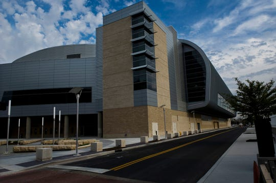 The Ford Center in Downtown Evansville Oct. to 17, 2011.
