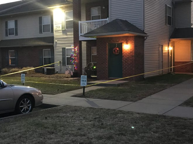 Evansville Police are investigating an officer-involved shooting at the Arbors at Eastland apartment complex.