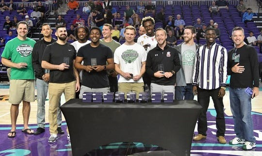 The 2010 Fort Myers High School boys basketball state championship team reunited for its 10th anniversary Saturday at the Culligan City of Palms Classic.