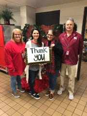 This photo was posted on the Crockett County School Nutrition Facebook page on Friday as Crockett County High School officials wanted to publicly thank Pictsweet for paying off all student debt in the cafeteria.