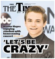 November 2013: Musicians from Cajun country had a great year. Breaux Bridge native Hunter Hayes garnered three Grammy nominations and closed out the year with a special concert.