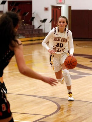 Berne Union junior Bella Kline, who has scored more than 1,000 career points, has helped lead the Rockets to a 19-1 overall record, and on Sunday, they were awarded with the No. 1 seed in the Central District Division IV tournament.
