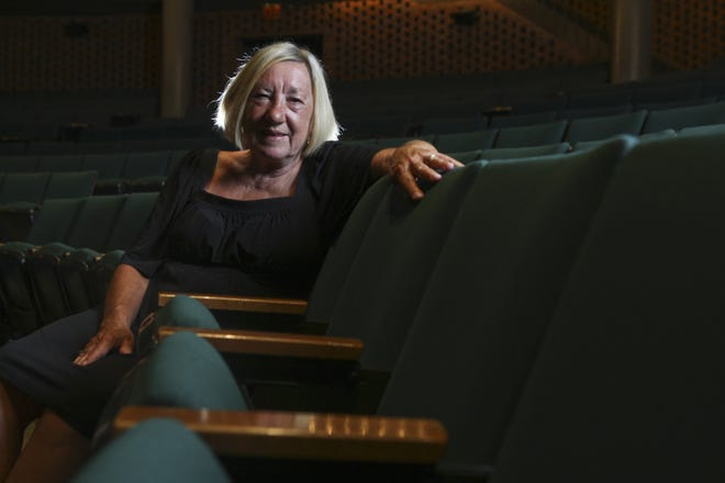 Trish Pugh-Jones is pictured here in 2010, after she retired from Actors Theatre after years of service.