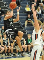 Clear Fork's Brennan South led the Colts to a win over Galion in which four players scored in double-figures for Clear Fork.