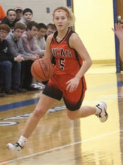 Lucas' Jamie Grover is a true point guard and has the Lady Cubs thinking Mid-Buckeye Conference championship.