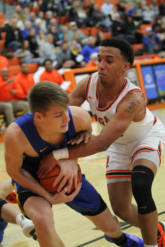 Mansfield Senior's Cameron Todd will lead his team into a rivalry matchup against Lexington on Friday.