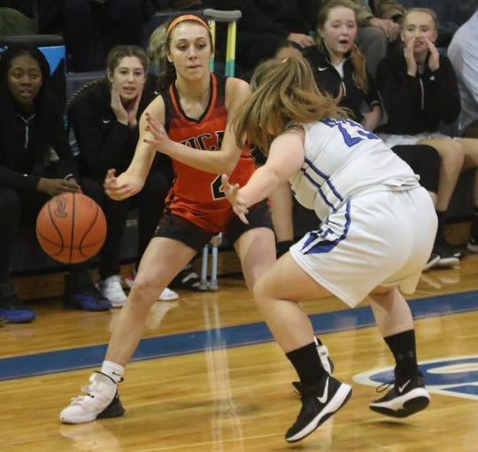 Lucas' Kayla Hignite has the Lady Cubs tied at No. 1 in the Richland County Girls Basketball Power Poll.