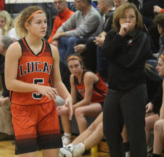 Lucas' Jamie Grover has the Lady Cubs back to No. 2 in the Richland County Girls Basketball Power Poll.