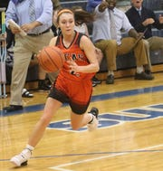 Lucas' Kayla Hignite is a do-it-all type player for the Lady Cubs.