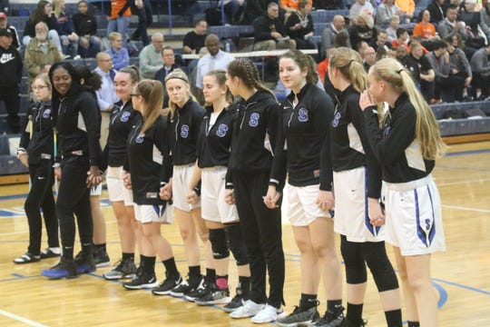 The St. Peter's Lady Spartans are No. 8 in the Richland County Girls Basketball Power Poll.