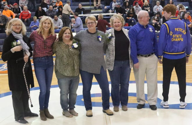 GALLERY: 1980 St. Peter's Lady Spartans celebration