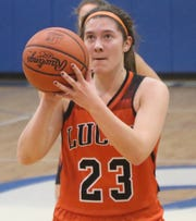 Lucas' Paige Arnold has been instrumental in the Lady Cubs 6-0 start.
