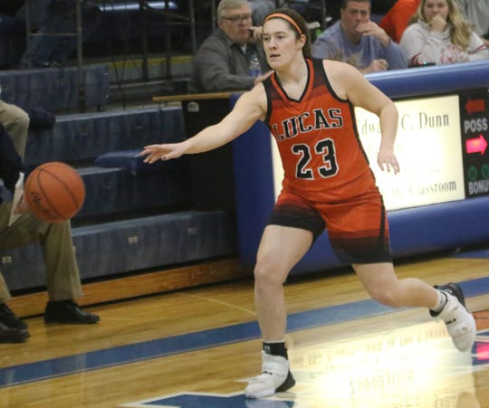 Lucas' Paige Arnold has the Lady Cubs as the No. 3 team in the Richland County Girls Basketball Power Poll.