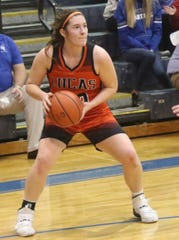 Lucas' Paige Arnold helped the Lady Cubs earn the No. 2 overall seed in the Willard District.