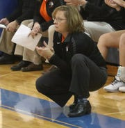 Lucas head coach Kathy Grover was named the Division IV District 6 Coach of the Year.