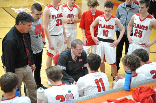 The Mansfield Christian Flames are No. 11  in the Richland County Boys Basketball Power Poll.