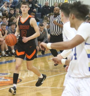 Lucas' Riley Gossom led the Cubs to two victories last week with 17 points against St. Peter's and 32 against Plymouth.