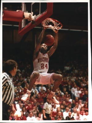Michael Finley starred at Wisconsin from 1991-95 before embarking on a 17-year career in the NBA.