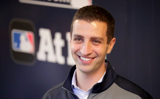 Brewers general manager David Stearns has been a busy man recently, adding nine players through trades or free-agent signings to the team's roster.