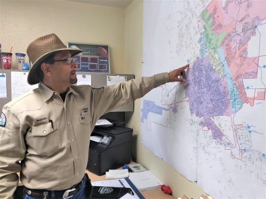 Las Cruces Utilities Water Production Supervisor Pascual Rodriguez has developed a 25-year career with Utilities. He is one of the associates responsible for providing a safe and secure supply of drinking water to customers.