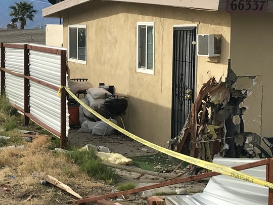 A suspected drunken driver plowed into Adame's home on Dec. 15, according to police.