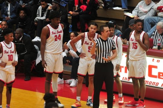 Richmond was called for a total of 25 fouls in a 62-57 loss to Indianapolis Arsenal Tech on Friday, Dec. 20, 2019.