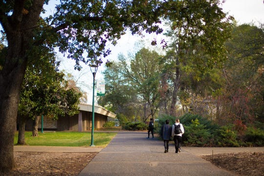 Shasta College serves students in Shasta, Tehama and Trinity counties.