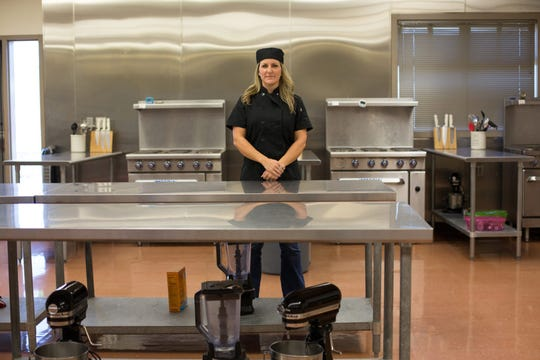 Ashley Marsh is an instructor at Foothill High's culinary arts academy in Redding.