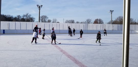 Brandon Valley hockey players were back on the ice on Friday, Dec. 20 after the entire facility had to be rebuilt following September's flooding.