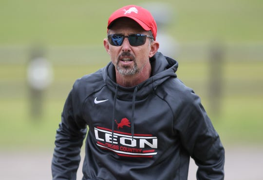 Veteran Leon cross country Andrew Wills was named the 2019 All-Big Bend Coach of the Year for boys cross country after the Lions took third in Class 3A.
