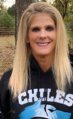 First-year Chiles coach Maggie Crutchfield was named the 2019 All-Big Bend Coach of the Year in girls swimming and diving after the Timberwolves won a Class 3A state title.