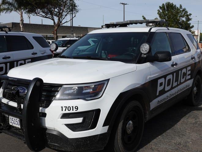 An Oxnard Police Department patrol vehicle.
