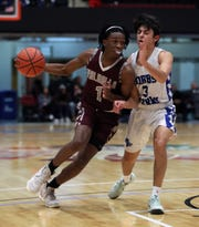 Valhalla beat Dobbs Ferry 73-46 in a Slam-Dunk Tournament challenge game at the Westchester County Center Dec. 20, 2019.