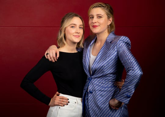 """Saoirse Ronan, left, and director Greta reunited for """"Little Women"""" just eight months after attending the Oscars for their first film together, """"Lady Bird."""""""