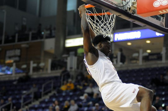 Tywhon Pickford and the Northern Iowa Panthers took care of business Sunday versus Marshall.
