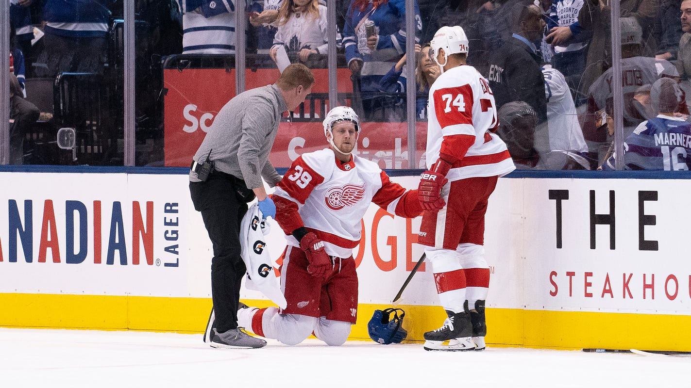 Detroit Red Wings might not see top winger Anthony Mantha for rest of season