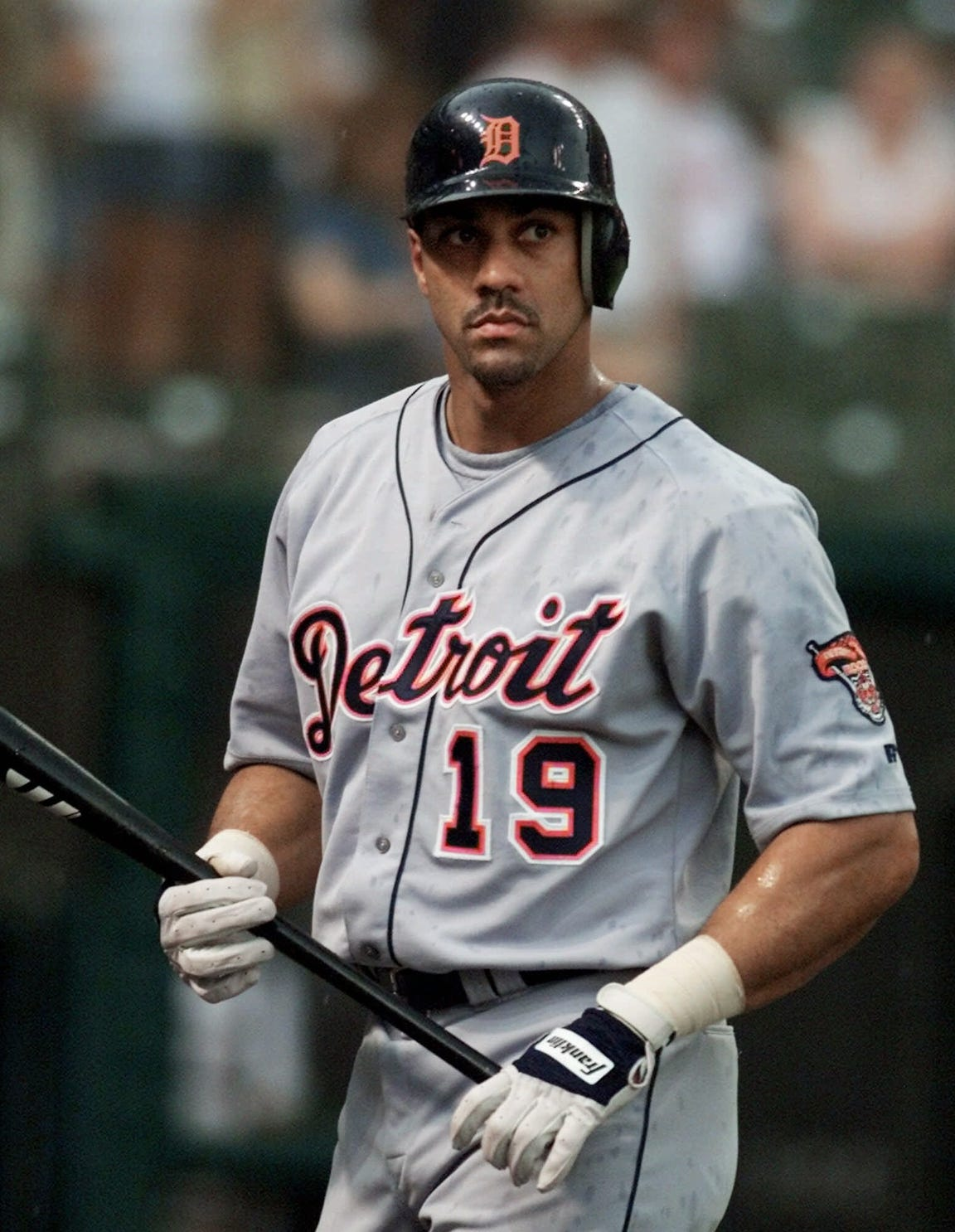 Juan Gonzalez hit 22 homers in his one season with the Tigers.