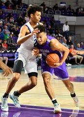 Gonzaga Prep's Terrance Williams takes the ball to the basket vs. IMG Academy in the City of Palms Classic in Fort Myers, Fla. on Dec. 21, 2019.
