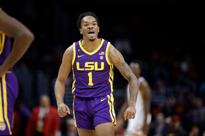 LSU guard Javonte Smart reiterated what Coach Will Wade has preached all season - the team that handles COVID-19 the best will be the best at the end of the season.
