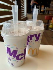 The snickerdoodle McFlurry from McDonald's, Marco Island.