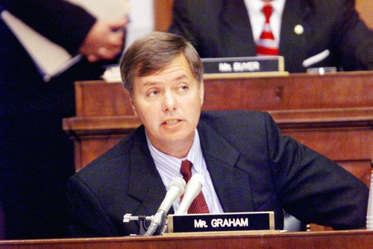 Rep. Lindsey Graham served as one of the Republican managers or prosecutors in the Senate impeachment trial of President Bill Clinton.
